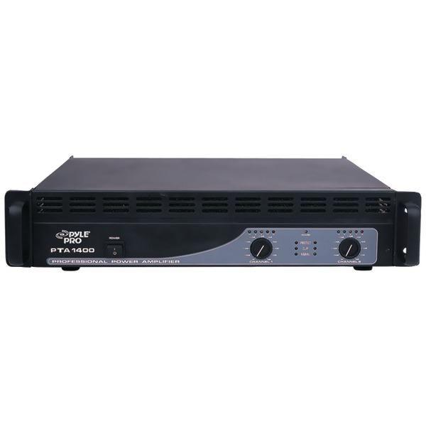 PYLE PRO PTA1400 Professional Power Amp (1,400 Watt)