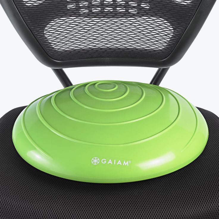 Balance Disc- cheaper alternative to a ball chair, easier to store, and less chance to distract
