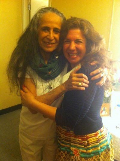 Eu e Maria Bethânia no Coliseu do Porto em Maio 2015