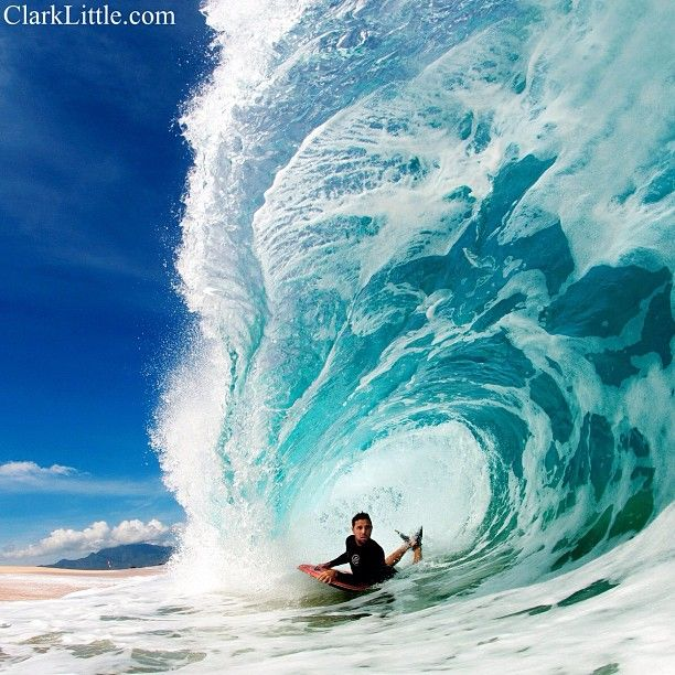 Photo by clarklittle #bodyboard #hawaii #aloha #clarklittle