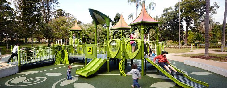 The City Botanic Gardens - Nature-Inspired Playground