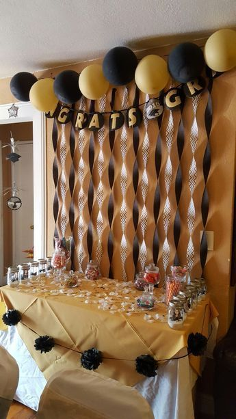 Graduation, Graduation Decorations, Grad - # High School # Graduation Party #Decoration - #DecorationGraduation