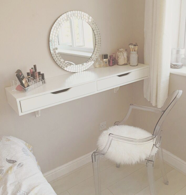 Makeup Forever Hd Foundation Diy Makeup Vanity Ideas Pinterest Rustic Makeup Makeup Table Ikea Bedroom Interior Home Decor