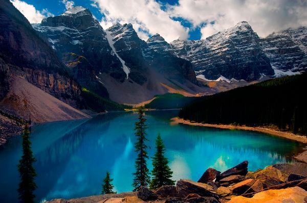 Озеро Морейн, Канада
