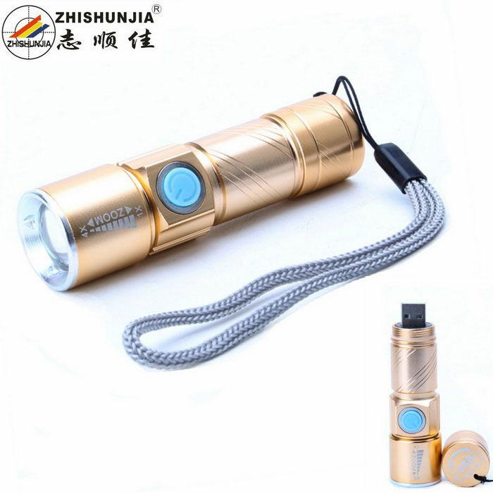 ZHISHUNJIA U2-USB USB Q5 XP-E 240lm White LED Telescopic Focusing Flashlight - Golden. Find the cool gadgets at a incredibly low price with worldwide free shipping here. ZHISHUNJIA U2-USB USB Q5 XP-E 240lm White LED Telescopic Focusing Flashlight - Golden, Other Batteries Flashlights, . Tags: #Lights #Lighting #Flashlights #LED #Flashlights #Other #Batteries #Flashlights
