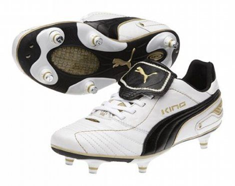 245abff42 PUMA KING FINALE - WHITE/BLACK/GOLD | botines | Puma football boots, Football  boots, Soccer cleats