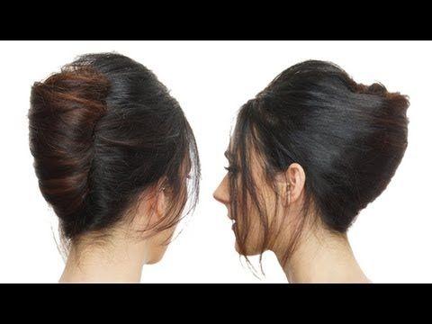 143 best videos de peinados images on pinterest hairdos. Black Bedroom Furniture Sets. Home Design Ideas