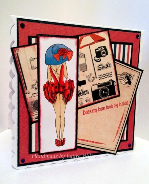 Laura's handmade cards: Acid drops & whatnots