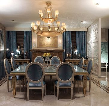 Deco dining room - traditional - Dining Room - COLECCION ALEXANDRA
