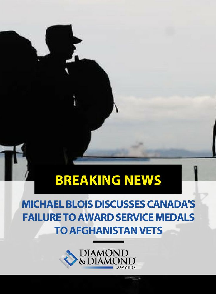 Lawyer Michael Blois, a former master corporal who served two tours in Afghanistan and also served in Bosnia, sat down with Global News to discuss Canada's failure to award service medals to Afghanistan veterans. Watch his interview here.