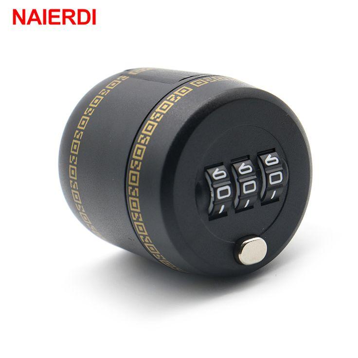 2016 NAIERDI Plastic Bottle Password Lock Combination Lock Wine Stopper Vacuum Plug Device Preservation For Furniture Hardware