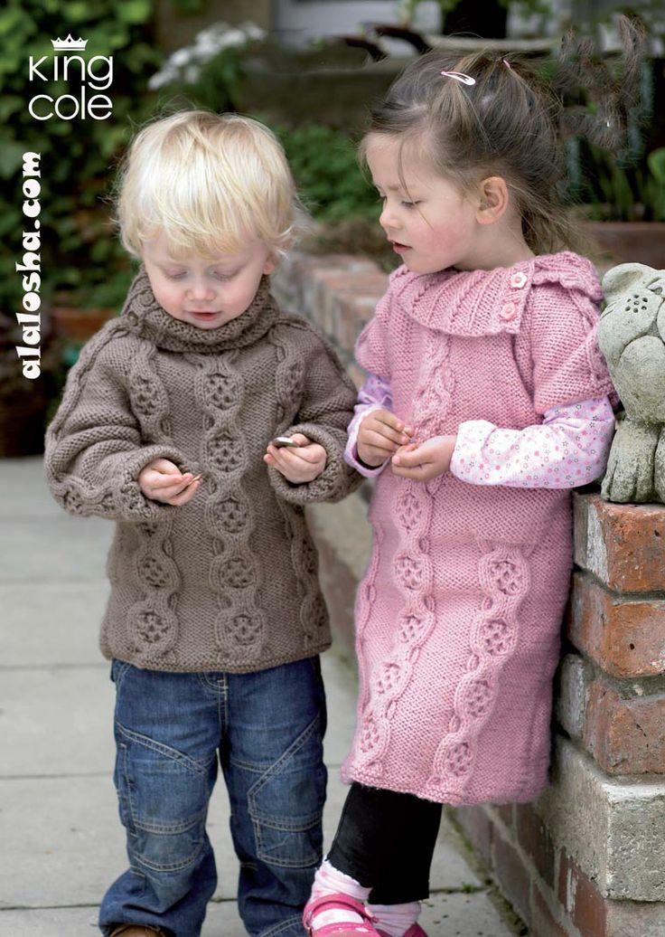ALALOSHA: VOGUE ENFANTS: Toddler in Knitwear: Теплые вязаные свитера, кардиганы и кофточки для малышей