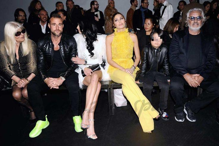 Flavio Briatore reúne a su familia en Milán