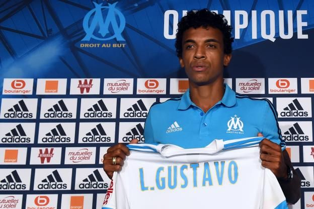 Luiz Gustavo, recrue marseillaise, a été officiellement présenté, ce jeudi matin..