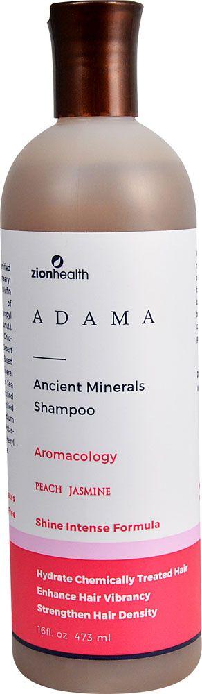 Zion Health Adama Clay Minerals Shampoo Peach Jasmine -- 16 fl oz - Vitacost