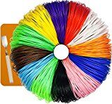 #7: 480 Linear Feet 3D Pen Filament Refills - ABS 1.75mm 24 PACKS 2 x 12 Different Colors Glow In The Dark Color and Free Spatula Included 7TECH http://ift.tt/2cmJ2tB https://youtu.be/3A2NV6jAuzc