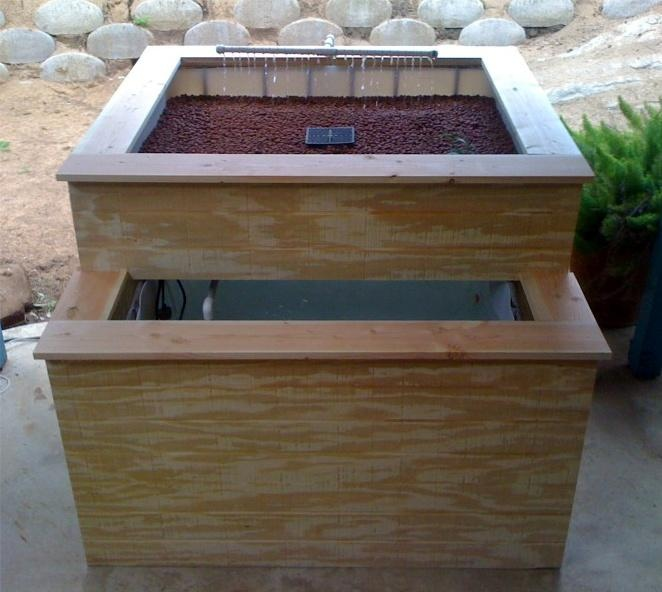 self sustaining tilapia garden design for your deck or yard very small design great even for people who have tiny yards like me