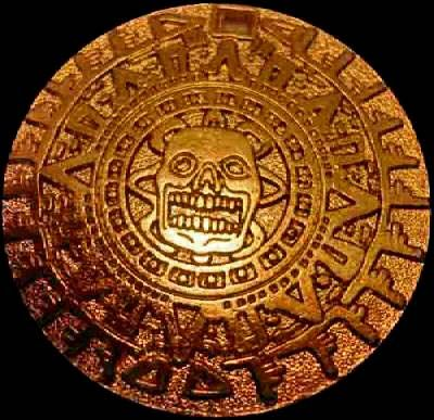 Aztec Gold Coin. We love coins at Renaissance Fine Jewelry in Vermont or at www.vermontjewel.com. Contact us at sales@vermontjewel.com. Please support and be a member of the American Numismatic Association.