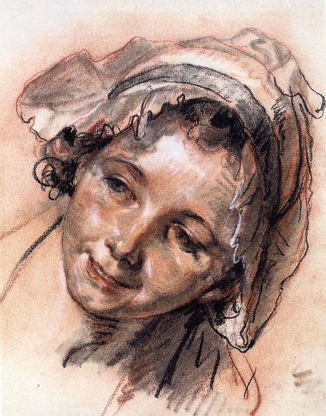 Head of a Young Woman  Jean Baptiste Greuze