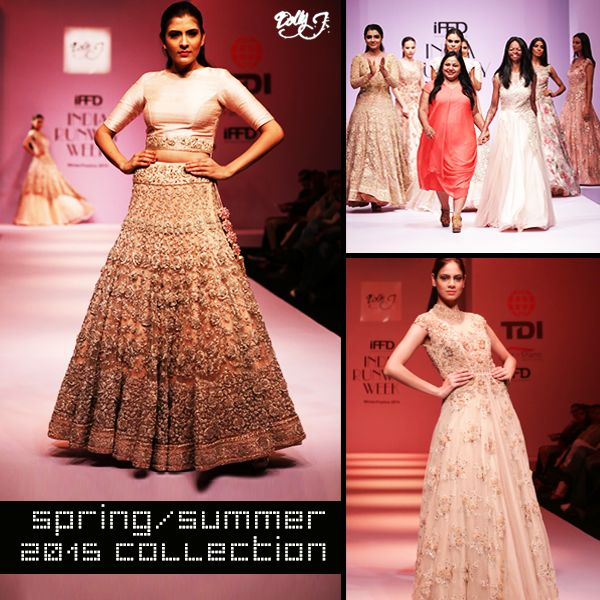 Feel the freshness in the breeze with the colours of the new collection. Witness elegant silhouettes with a quirky edge. Presenting a flash of our SS'15 Collection.