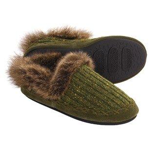 Acorn Merino Marvel Shoes - Slippers, Wool Blend (For Women) in Arctic