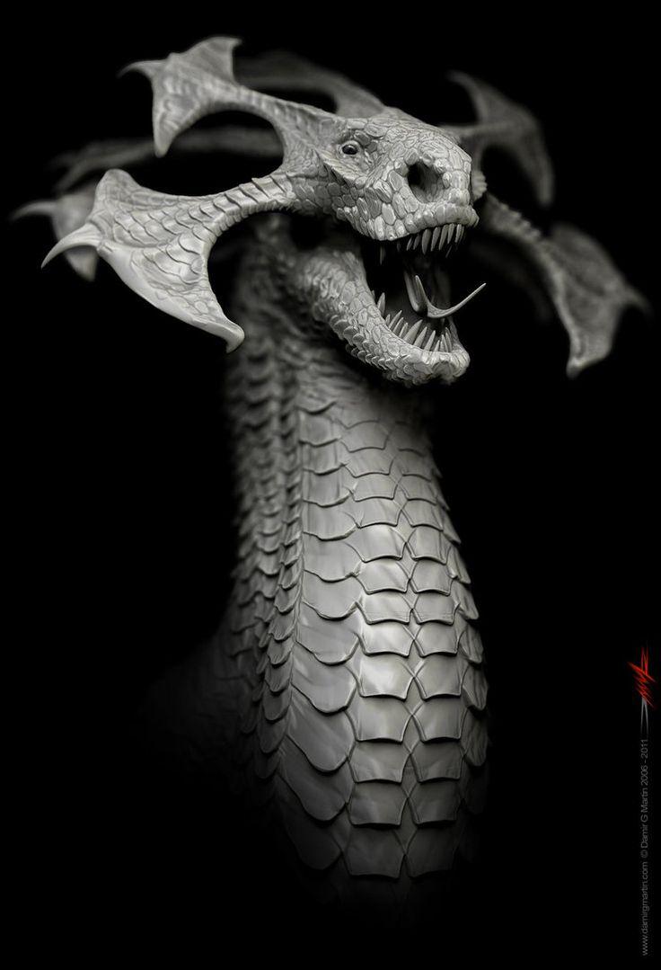 How to breed heraldic dragon - Dragon Design By Damir G Martin On