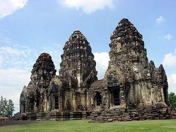 Prang Sam Yod, Lopburi, Thailand  Adventure Time ...