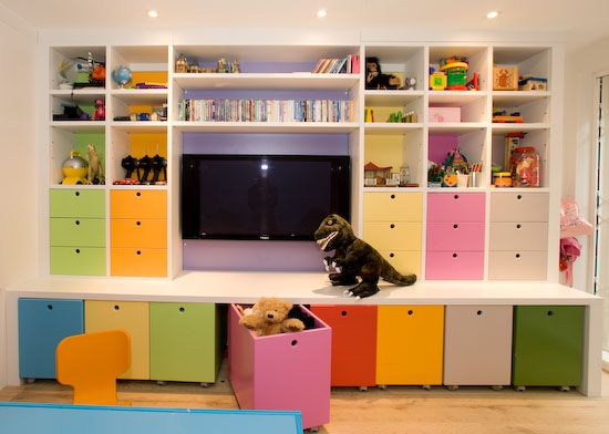 Playroom Design Ideas the happy life of a mom wife playroom ideas i like the bookcases to the ceiling Find This Pin And More On Kids Playroom Ideas