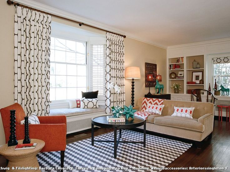 1000+ Ideas About Bay Window Curtains On Pinterest