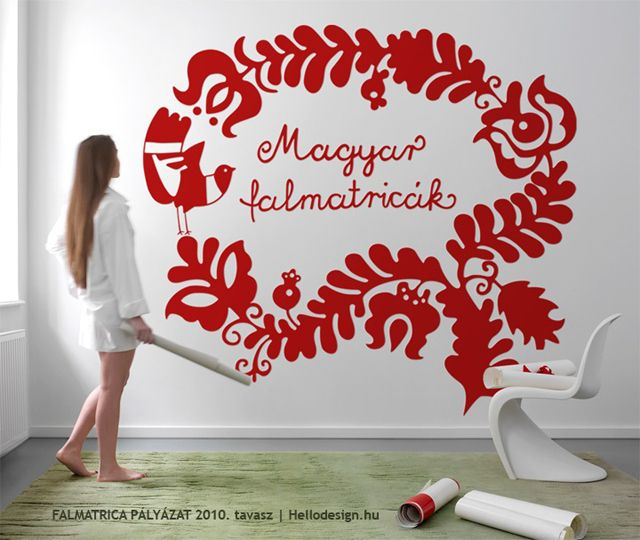 Wall sticker, from the famous Hungarian Folk Tales series.