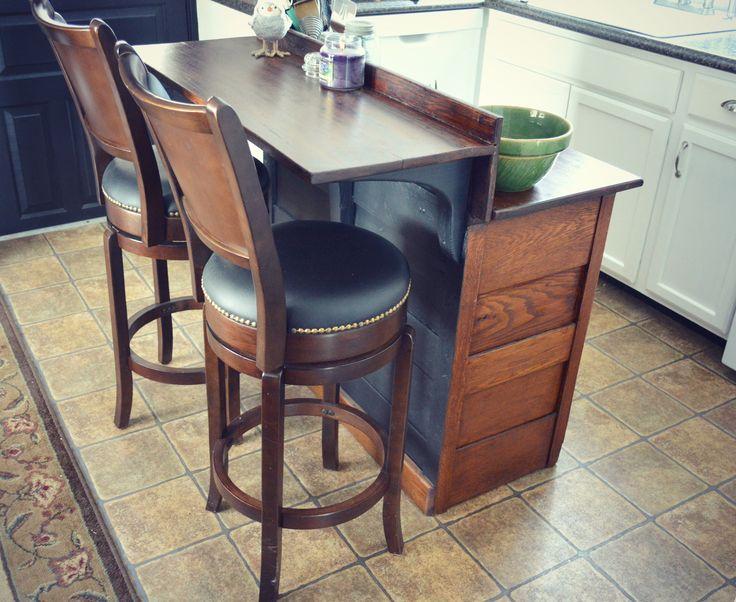 dresser turned into kitchen island - Google Search