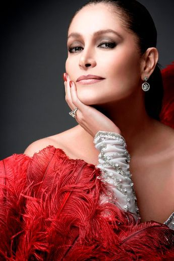 Daniela Romo (born Teresa Presmanes Corona on August 27, 1959 in Mexico City, Mexico) is a Mexican singer, actress and TV hostess. Her parents never married, and Daniela and her sister Patricia were raised by their grandmother. As a child she idolized Rocío Dúrcal, whom she credits for inspiring her to become an actress and a recording artist.