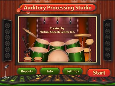 Speech Room News: Auditory Processing Studio {App Review}. Pinned by SOS Inc. Resources. Follow all our boards at pinterest.com/sostherapy for therapy resources.