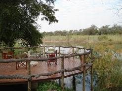 Kwando camp in the Caprivi, Namibia