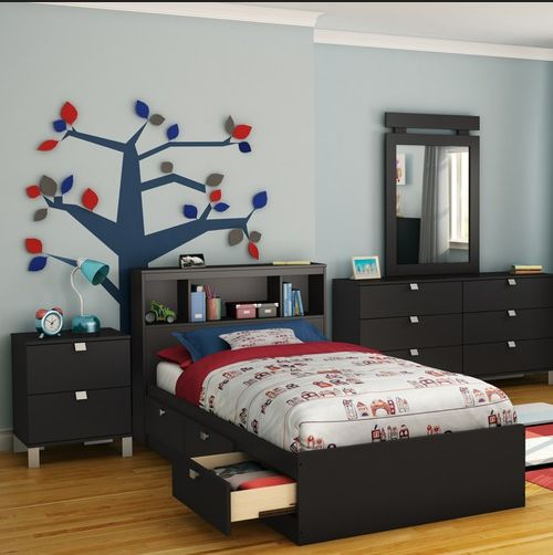47 best Bedroom Sets images on Pinterest | Black bedrooms, Black ...