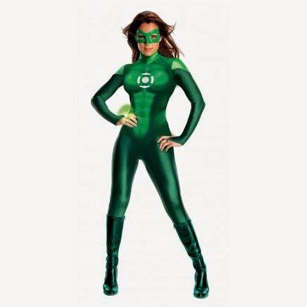 Disfraz Linterna Verde Mujer | Disfraces Originales