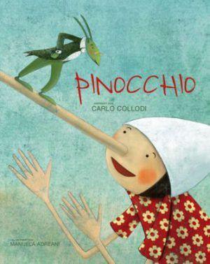Der Klassiker Pinocchio, neu erzählt mit liebevollen Bildern von Manuela Adreani im White Star Verlag. Bilderbuch Rezension von @juliliest