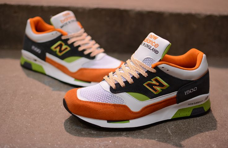 New Balance 1500 'Made in England' Orange & Green. Adidas SneakersShoes  SneakersRetro ...