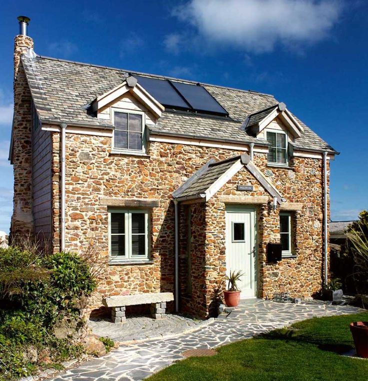 11 best i cant believe its a new build images on pinterest house a cottage style eco home in cornwall malvernweather Gallery