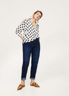 Flowy printed blouse - Plus Size Fashion