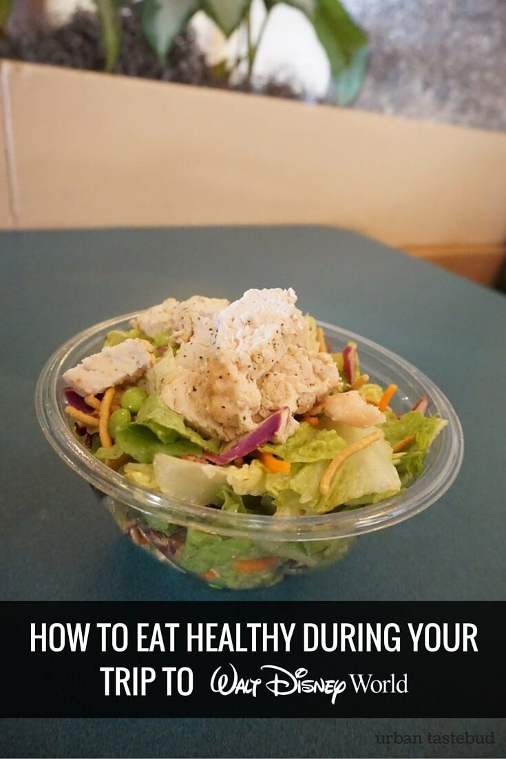 How to Eat Healthy At Walt Disney World