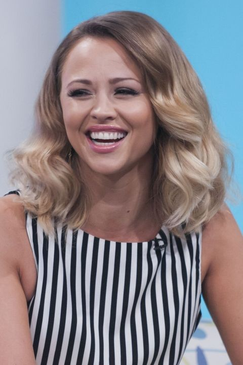 Kimberley Walsh Makes Her Blonde Shade Brighter With Light Ends