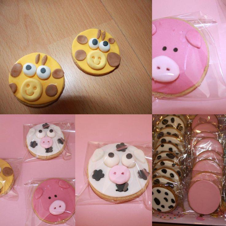 galletas fondant animales