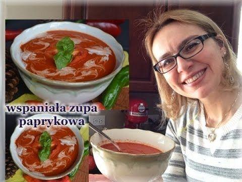 Aromatyczna zupa paprykowa - super smaczna i zdrowa / kierunek zdrowie