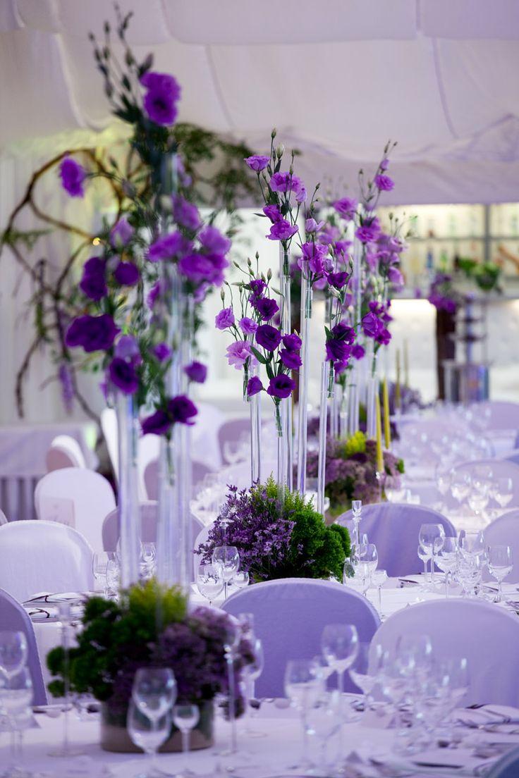 Tuscany wedding centerpiece by artsize.pl