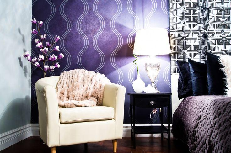 Modern Glamour Style Master Bedroom