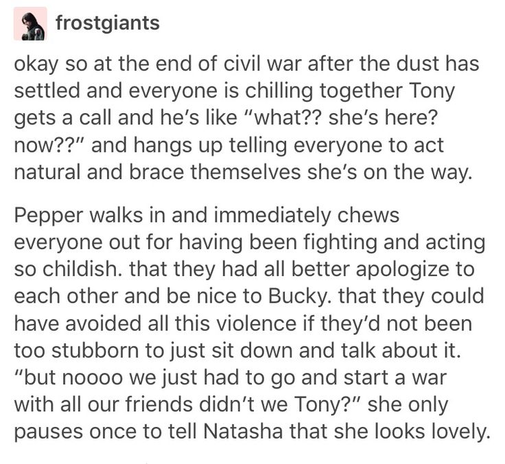 If Pepper had been in CACW (or Nick Fury for that matter) a lot of the movie wouldn't have happened.