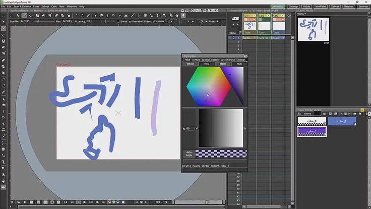 Opentoonz Tutorial 5 Brushes and Colours on Vimeo