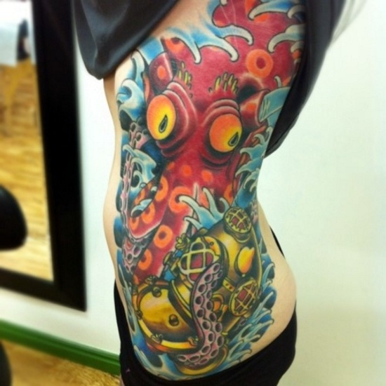 86 best dive tattoo images on pinterest incredible for Tattoos and hepatitis