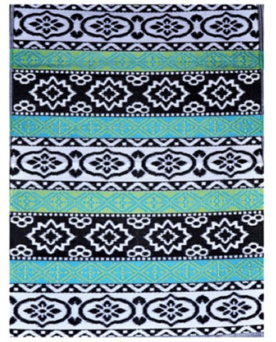Allissias Attic Design & Vintage French Style — Outdoor/Indoor Rug - Indiana